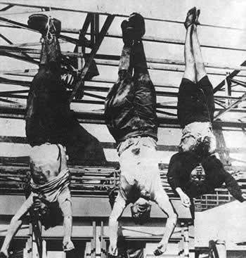 1945-4-28 Mussolini was executed