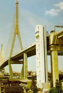 1993-4-8 Span the largest cable-stayed bridge in the world - Shanghai Yangpu Bridge Closure