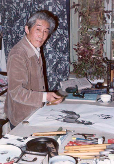1998-4-14 The death of the famous painter Yin Shoushi