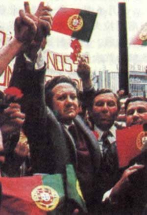 1976-4-25 Socialists Soares as Prime Minister of Portugal