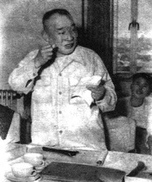 1957-4-27 Ma Yinchu published the speech of the population problem