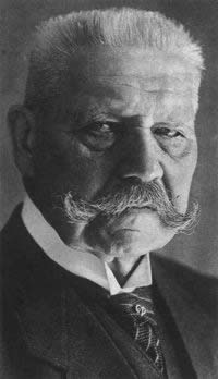 1925-4-25 Hindenburg was elected German president