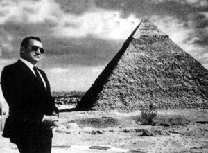 1928-5-4 Egyptian President Hosni Mubarak was born in the Nile Delta province of Manuel Fiat