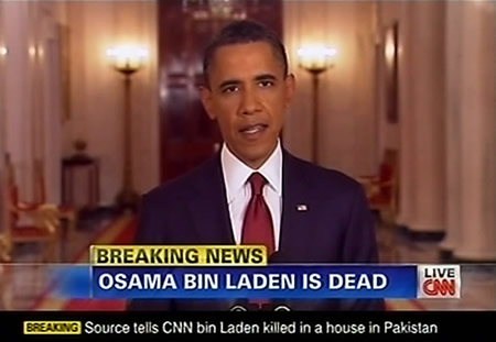 2011-5-1 Obama announced that Osama bin Laden has been the U.S. military killed