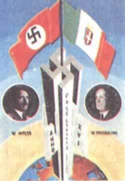 1939-5-22 German and Italian fascist signed a strategic alliance agreement