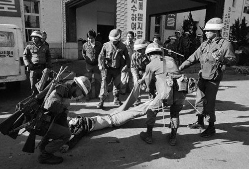 "1980-5-18 South Korean outbreak ""the Kwangju incident"", was the bloody suppression of the Chun Doo Hwan military government authorities"