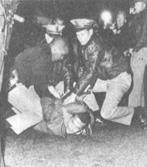 1969-5-22 American anti-war students occupied the university campus