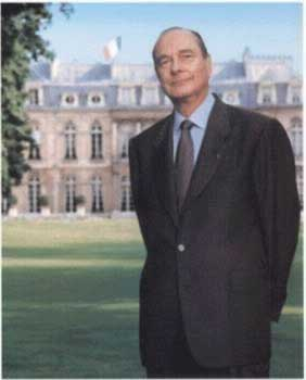 1995-5-7 Chirac was re-elected President of France