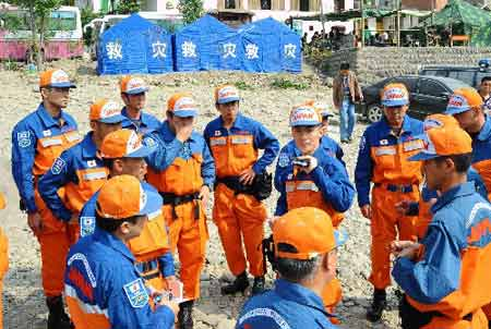 2008-5-16 Chinese government to accept the first foreign rescue teams