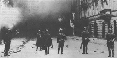 1943-5-16 Warsaw ghetto was destroyed