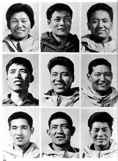 1975-5-27 Women to climb Mount Everest from the North Slope for the first time