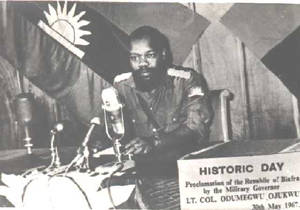 1967-5-30 Nigeria Eastern Biafra declared its independence