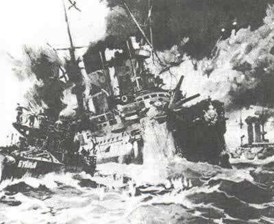1905-5-28 Russian military suffered heavy losses Falklands waters