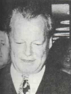 1974-5-16 West German Chancellor Willy Brandt spy scandal to step down