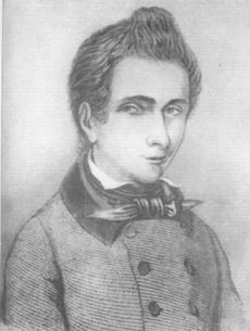 1832-5-31 Galois's death, the creator of the French mathematician group theory