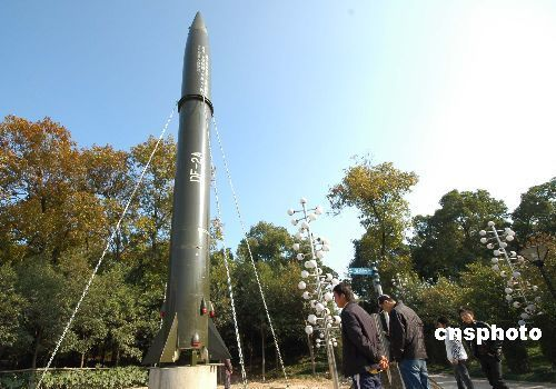 1964-6-29 The Dongfeng II missile blasted off from the Jiuquan launch site