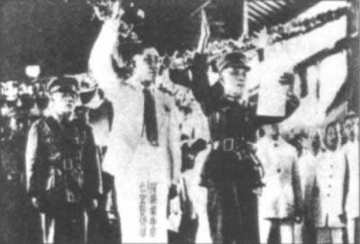1936-6-1 Guangdong and Guangxi apprenticeship northward anti-Japanese