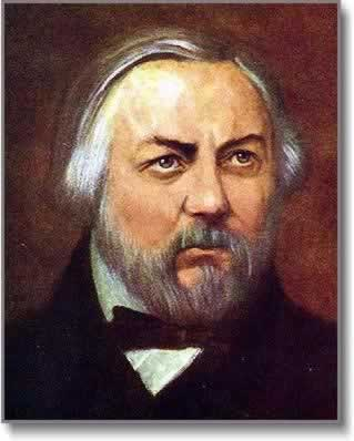 1804-6-1 The famous Russian composer Glinka's birthday