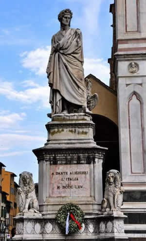 1265-6-5 The birth of the famous Italian poet Dante