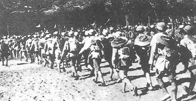 "1940-6-7 The beginning of northwest Shanxi against ""mop-up"""