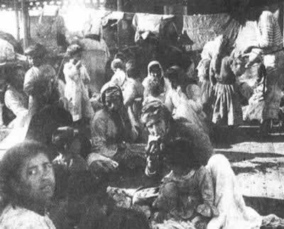 1915-6-17 The massacre of a large number of Armenians in Turkey