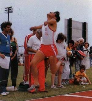 1984-6-17 China for the first time to participate in the International Paralympic Games