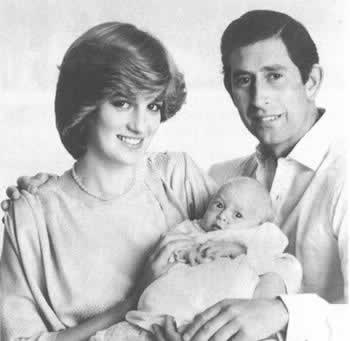 1982-6-21 Charles and Diana's first child was born