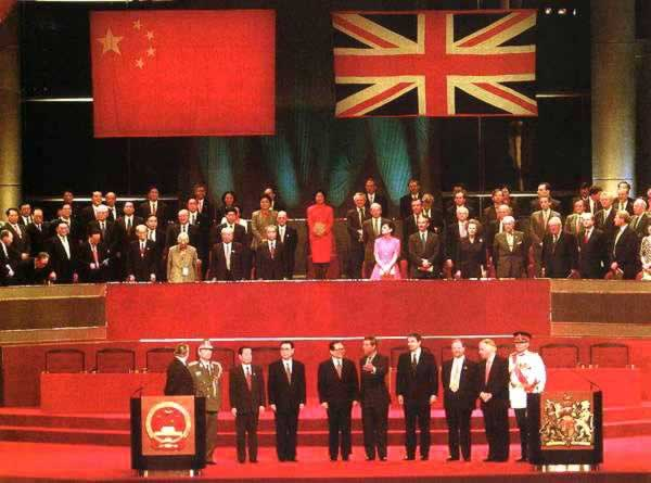 1997-7-1 The Chinese government resumed the exercise of sovereignty of Hong Kong