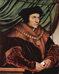 1535-7-6 Founder of the European early utopian socialist doctrine in the death of Thomas More