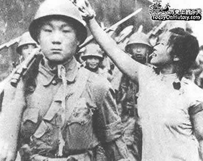 1949-7-6 Shanghai million soldiers and civilians celebrate liberation