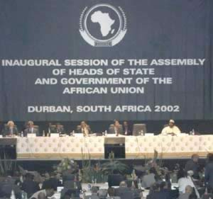 2002-7-9 The opening of the first Summit of the African Union