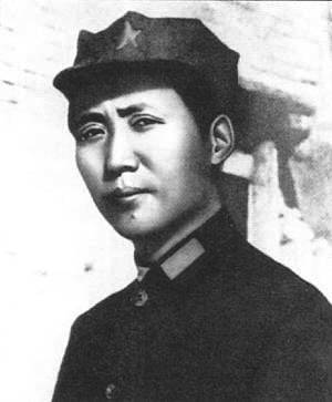 1936-7-11 Snow early visit to Mao Zedong