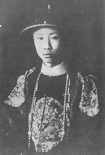 1917-7-12 Pu Yi, the end of the restoration of the monarchy