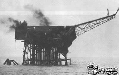 "1988-7-12 ""Piper Alpha"" explosion of the drilling platform"