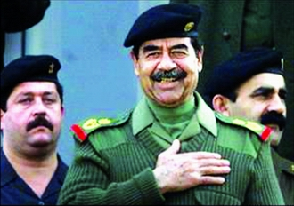 1979-7-16 Saddam Hussein became the President of the Republic of Iraq