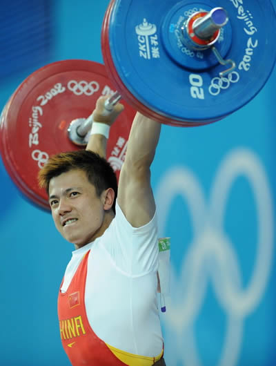1983-7-16 The famous Chinese weightlifter Zhang Xiangxiang birth