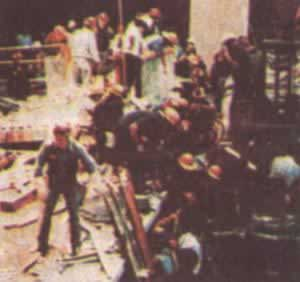 1981-7-17 U.S. hotel channel collapsed 111 people were killed