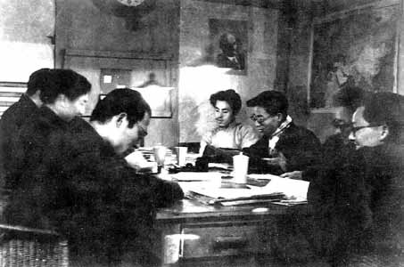 1950-7-21 CPC Central Committee forwarded the report of the Beijing Municipal Committee on Rectification work