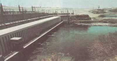 1970-7-21 Completion of the Aswan High Dam in Egypt