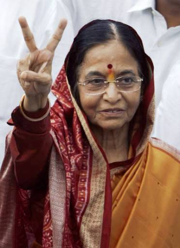 2007-7-21 India, the birth of the first female President Pratibha Patil