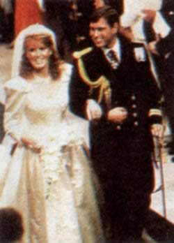 1986-7-23 Held a grand wedding of Prince Andrew and Ferguson
