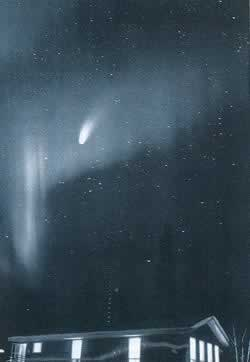 1995-7-23 Found that the end of the century comet Haile Pope ""
