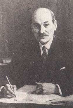 1945-7-26 The Attlee group British Labour Party Cabinet, served as prime minister