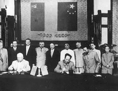 1958-7-31 Mao Zedong reject the recommendations of the combined fleet of the Soviet Union to establish