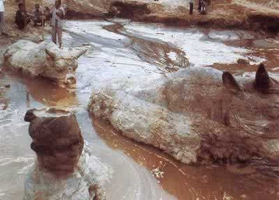 1989-7-31 Tang Dynasty Unearthed in Yongji County tractor
