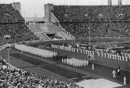 1936-8-1 China sent a delegation to participate in the 51st Berlin Olympics