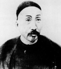 1884-8-5 Three French warships to invade Taiwan Keelung, Qing Dynasty defender Liu Ming-chuan led his army to repel