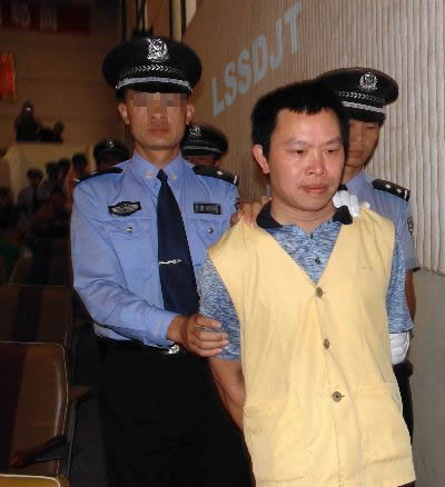 2007-8-3 Yunnan police leadership triad and organized prostitution was the death penalty