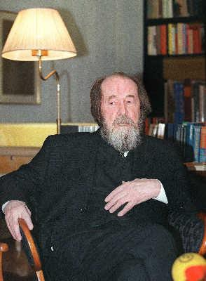 2008-8-3 Solzhenitsyn's death, the world-famous writer, Nobel Prize winner in literature