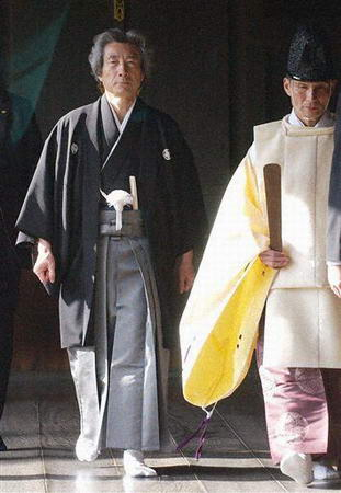 2006-8-4 Japanese religious groups asked Koizumi to stop visiting the Yasukuni Shrine
